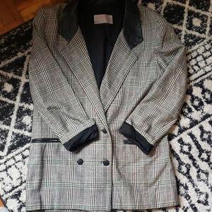 Retro Vintage Blazer with Primary colors